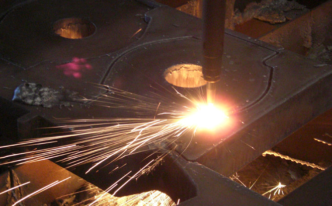 Steel Plate Flame Cutting Services