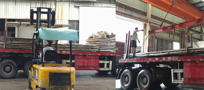 Steel Plate Transportation