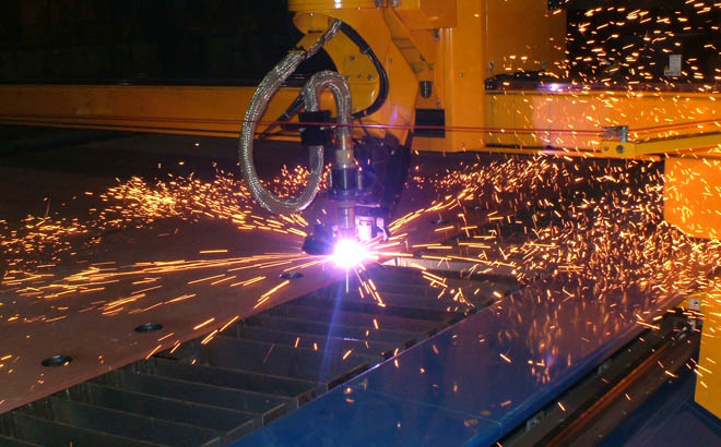 Plasma Cutting Fabrication for Steel Plates