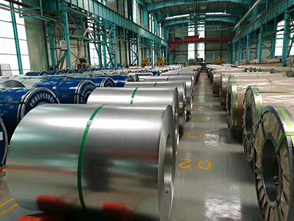 Cold Rolled Steel Coil Package