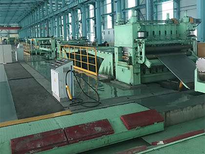 Uncoiling and Slitting Equipment